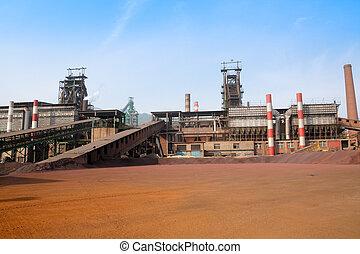 工場, 鉄, 製錬