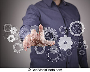 工学, そして, デザイン, イメージ