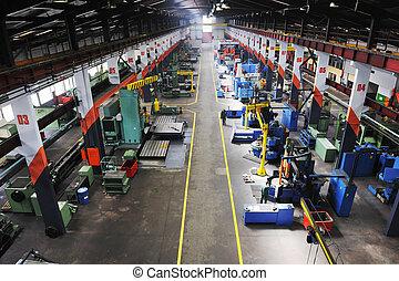 工廠, 室內