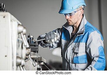 工業労働者, コーカサス人