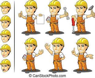 工業労働者, 建設, masc