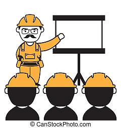 工業的工人