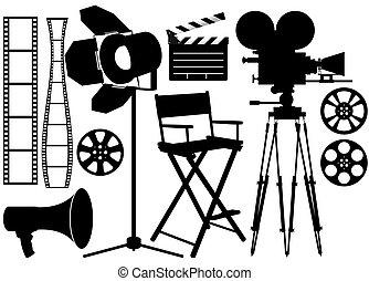 工業, 電影