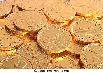 巧克力, 美元