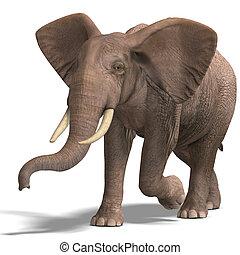 巨大, 大象