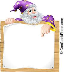 巫術師, 字, 簽署