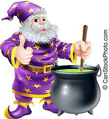 巫術師, 激動人心, 大鍋