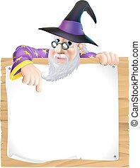 巫術師, 簽署