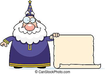 巫術師, 紙卷