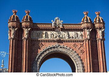 巴塞罗那, 胜利的拱形