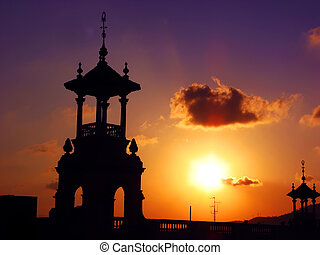 巴塞羅那, 黃昏