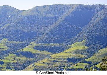 巴西, 山