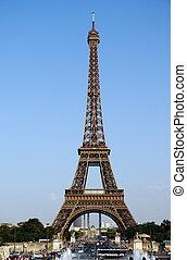 巴黎, 塔, eiffel