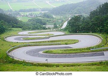 巻き取り, 韓国, 道