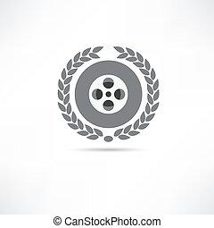 巻き枠, フィルム, アイコン