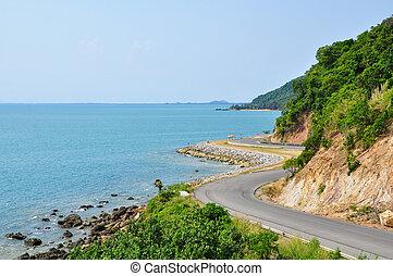 巻上げの 道, 海, タイ