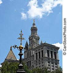 ∥, 市の, 建物, 中に, ニューヨーク市