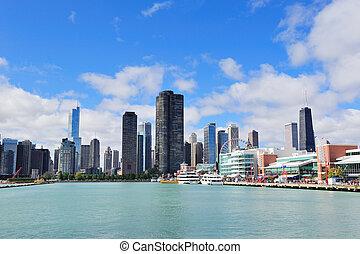 市區, 城市, 芝加哥