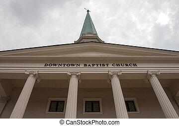 市區, 浸禮會教友, 教堂