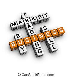 市场, 拼字游戏