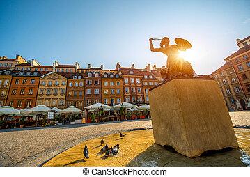 市場廣場, 在, 華沙
