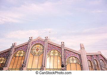 市場, 中央である, バレンシア, スペイン