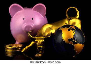 市場, 財政, 世界的である