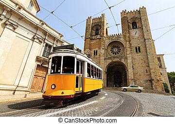市街電車, 大聖堂, リスボン