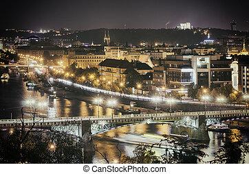 布拉格, 夜晚