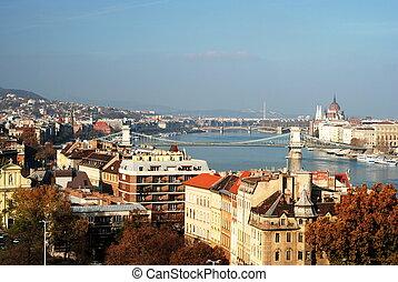布達佩斯, 城市