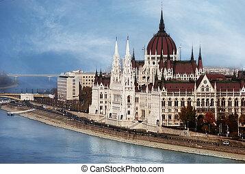 布達佩斯, 議會