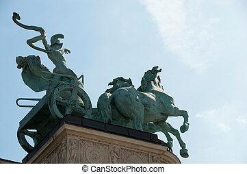 布達佩斯, heroe\'s, 廣場