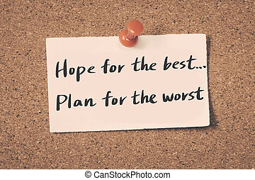 希望, 最も良く