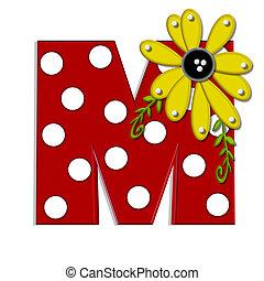 希腊語的第一個字母, 葡萄樹, m, 向日葵