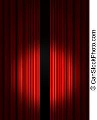 帘子, 劇院