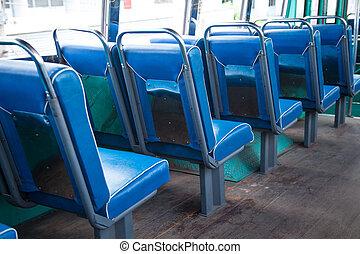 席, 上に, ∥, bus.