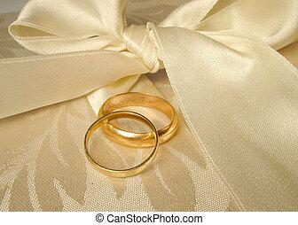 帶子, 婚禮