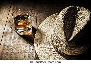 帽子, アルコール