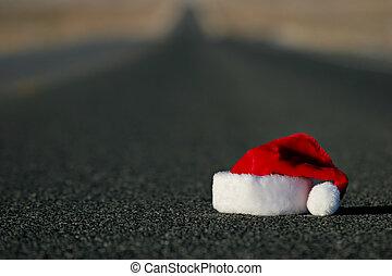 帽子, 失われた, santa