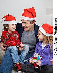 帽子, 子供たちの父親となりなさい, santa