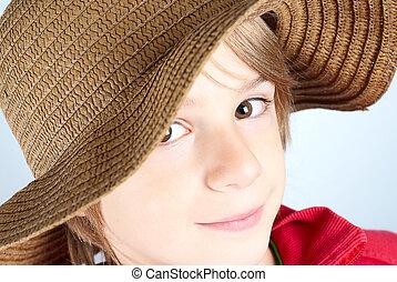 帽子, 子供