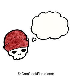 帽子, 漫画, 頭骨