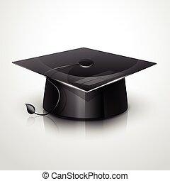 帽子, 矢量, 畢業