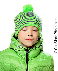 帽子, 衣類, 男の子