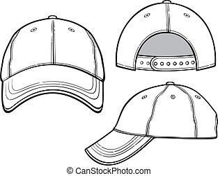 帽子, 野球