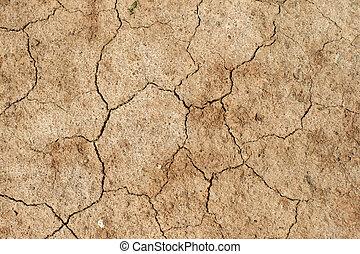 干燥, 土壤