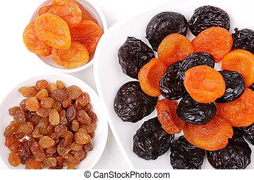 干燥, 彙整, 水果