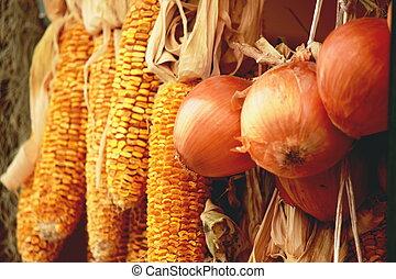 干燥, 蔬菜