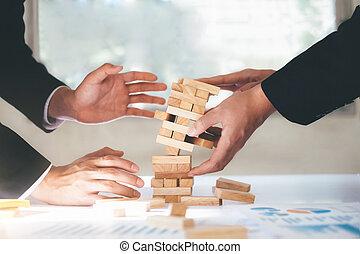 平になること, 概念, ビジネス, 危険, 考え, 作戦