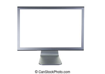 平らなスクリーン, lcd, モニター